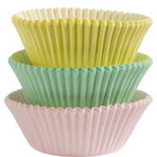 Pastel Baking Cups 75ct