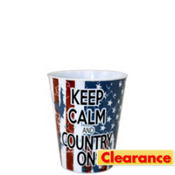 Keep Calm Country On Shot Glass