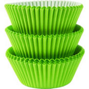 Kiwi Green Baking Cups 75ct