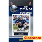 2014 Dallas Cowboys Team Cards 13ct