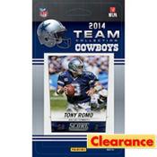 2014 Dallas Cowboys Team Cards 13ct
