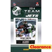 2014 New York Jets Team Cards 13ct