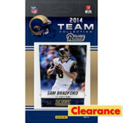 2014 St. Louis Rams Team Cards 13ct