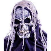 Closed Mouth Hooded Skull Mask