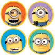 Despicable Me Erasers 4ct