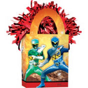 Power Rangers Balloon Weight