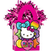 Rainbow Hello Kitty Balloon Weight