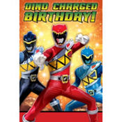 Power Rangers Invitations 8ct