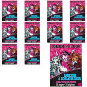 Monster High Coloring Books 12ct