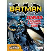 Batman Coloring & Activity Book