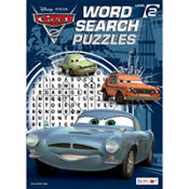 Cars Word Search Book