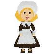 Jointed Felt Pilgrim Girl