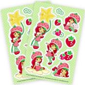 Strawberry Shortcake Stickers 2 Sheets
