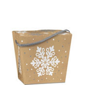 Snowflake Kraft Take-Out Box