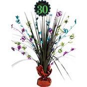 Celebrate 30th Birthday Spray Centerpiece