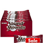 Dark Chocolate Mounds Bars 36ct