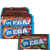 Milk Chocolate Mega M&M's Pouches 24ct