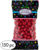 Red Peanut Chocolate Drops 150pc