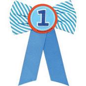 Blue 1st Birthday Award Ribbon