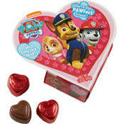 Red PAW Patrol Heart Box of Chocolates 7pc