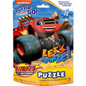 Blaze and the Monster Machines Puzzle Bag