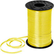 Yellow Curling Ribbon 350yds