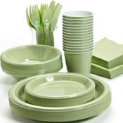 Leaf Green Tableware