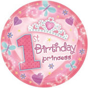 Princess 1st Birthday Party Supplies