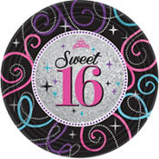 Sweet 16 Sparkle Party Supplies
