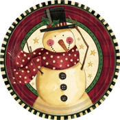 Cozy Snowman Christmas Party Supplies