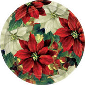 Regal Poinsettia Christmas Party Supplies
