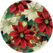 Regal Poinsettia Party Supplies