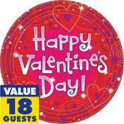 Love Crazy Valentines Day Party Supplies