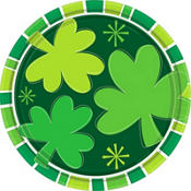 Spring Clover St. Patricks Day Party Supplies