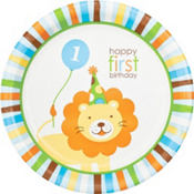 Sweet at One Boy's 1st Birthday Party Supplies