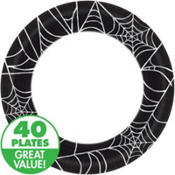 Spider Web Halloween Party Supplies 40ct