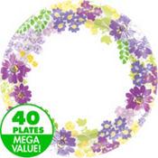 Floral Bloom Value Plates & Tableware