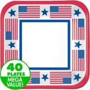 Patriotic Value Plates & Tableware