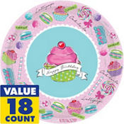 Pastel Birthday Sweest 1st Birthday Party Supplies
