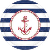 Striped Nautical Party Supplies