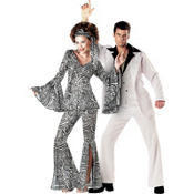 70s Disco Fever Couples Costumes