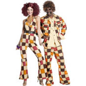 70s Disco Couples Costumes