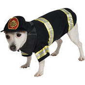 Fire Fighter Dog Costume