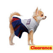 New York Giants NFL Dog Cheerleader Costume