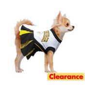Pittsburgh Steelers NFL Dog Cheerleader Costume