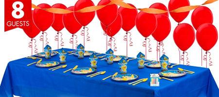 pokemon party tableware