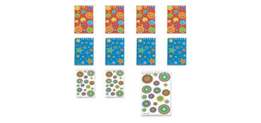 Groovy Notepads 30ct