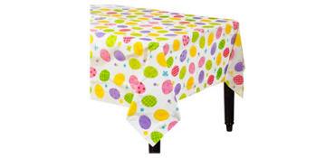 Eggstravaganza Plastic Table Cover