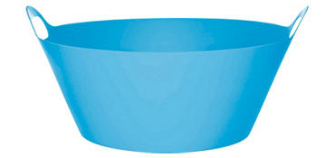 Blue Plastic Party Tub