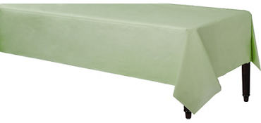 Leaf Green Paper Table Cover